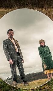 Bryn Fon a Gwenno Hodgkins yn Drych